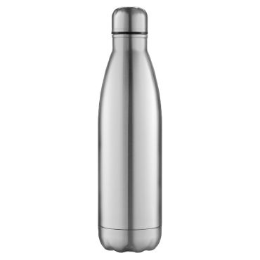 Botella de acero inoxidable STEEL WATER BLACK SPIDER