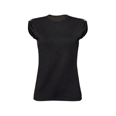 Camiseta básica mujer SLUBW02 BLACK SPIDER