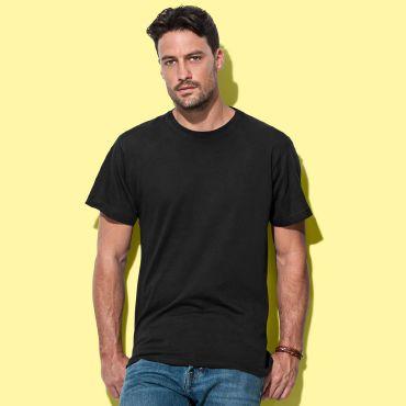 Camiseta básica barata hombre CREW NANO