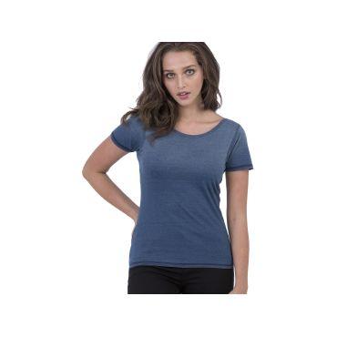 Camiseta efecto lavado mujer MIA SO DENIM