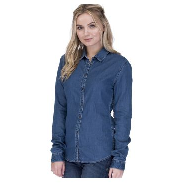 Camisa vaquera de manga larga mujer LUCY SO DENIM