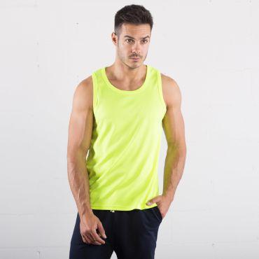 Camiseta deportiva de tirantes unisex RUNNING TANK TOP SPRINTEX