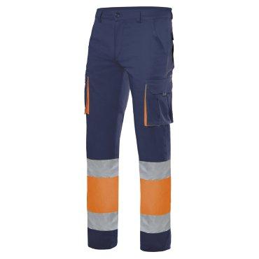 Pantalón de trabajo alta visibilidad unisex 303002S VELILLA