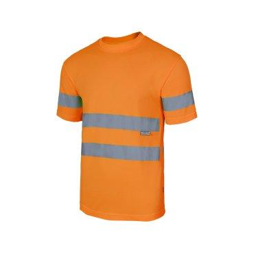 Camiseta de trabajo alta visibilidad unisex 305505 VELILLA