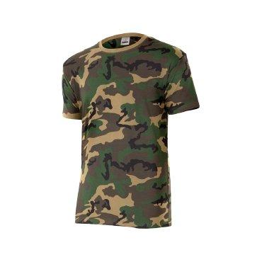 Camiseta camuflaje unisex 506 VELILLA