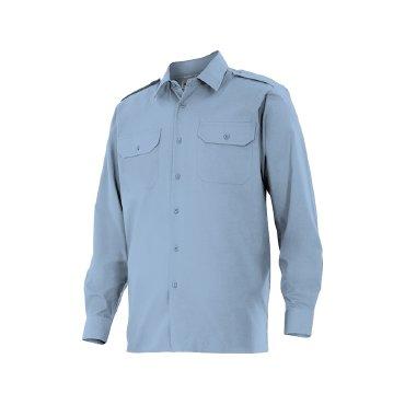Camisa manga larga con galoneras unisex 530 VELILLA