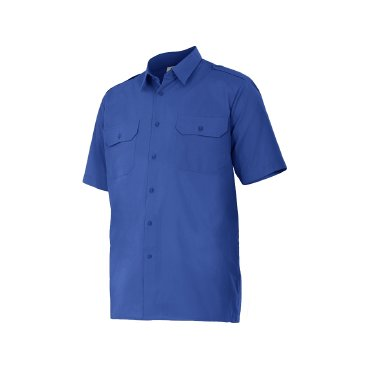 Camisa manga corta con galoneras unisex 532 VELILLA