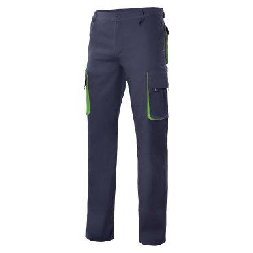 Pantalón de trabajo multibolsillos forrado unisex F103004 VELILLA