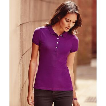 Polo pique mujer R-566F-0 STRECH Russell