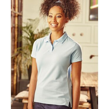 Polo básico pique mujer R-539F-0 Russell