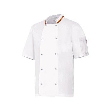 Chaqueta cocinero manga corta unisex PB405205 VELILLA