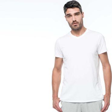Camiseta cuello pico hombre K3002 Kariban