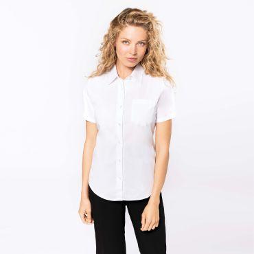 Camisa manga corta popelina mujer K544 Kariban