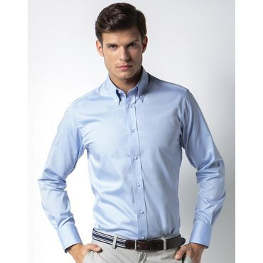 Camisa oxford de manga larga premium hombre OXFORD KK188 KUSTOM KIT