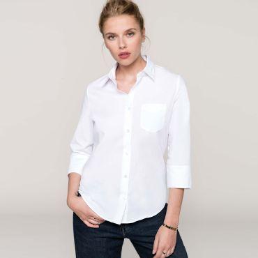 Camisa manga 3/4 mujer K558 Kariban