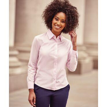 Blusa oxford manga larga mujer R-932F-0 RUSSELL COLLECTION