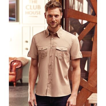 Camisa manga corta hombre R-919M-0 RUSSELL COLLECTION
