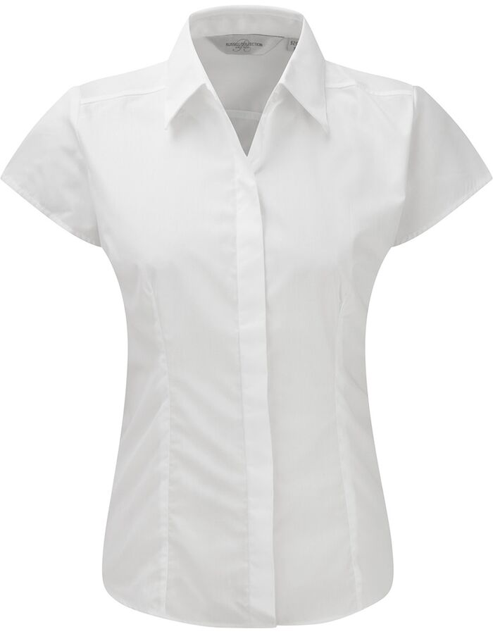ea053efac3163 Blusa RUSSELL COLLECTION R-925F-0 mujer Manga corta