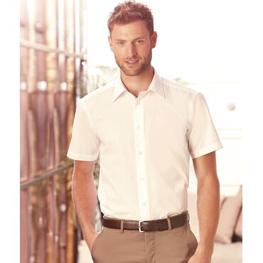Camisa manga corta hombre R-925M-0 RUSSELL COLLECTION