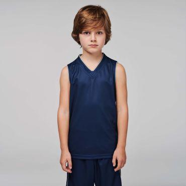 Camiseta de baloncesto sin mangas niños PA461 Proact