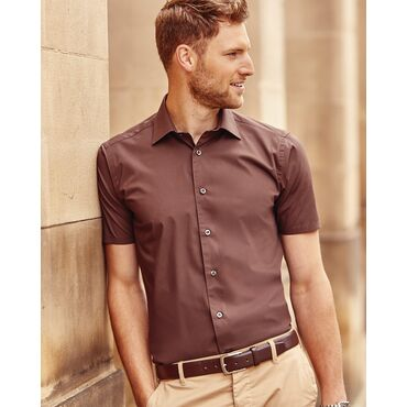 Camisa manga corta hombre R-947M-0 RUSSELL COLLECTION