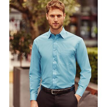 Camisa manga larga con bolsillo hombre R-934M-0 RUSSELL COLLECTION