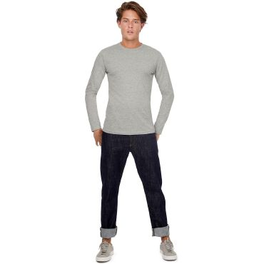 Camiseta de manga larga orgánica hombre TM070 MEN B&C