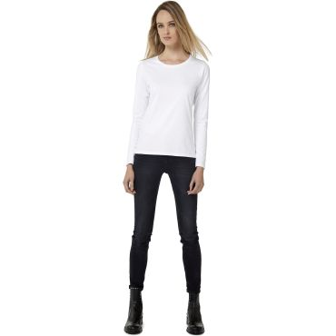 Camiseta de manga larga mujer TW08T WOMEN B&C