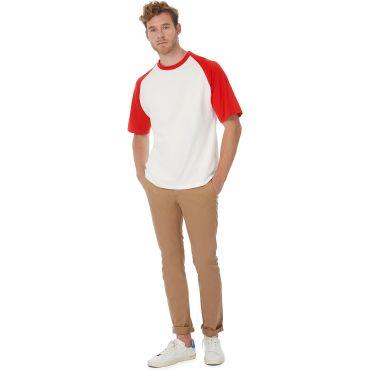 Camiseta béisbol básica hombre BASEBALL MEN B&C