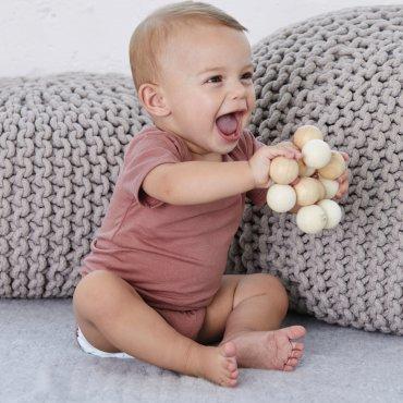 Pelele de manga corta bebé 134B JUNO BELLA + CANVAS
