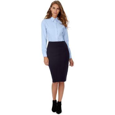 Camisa Oxford de manga larga Easycare mujer OXFORD LSL WOMEN B&C