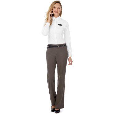 Camisa de manga larga strech mujer BLACK TIE LSL WOMEN B&C