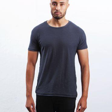 Camiseta básica orgánica hombre M124 SLUB MANTIS