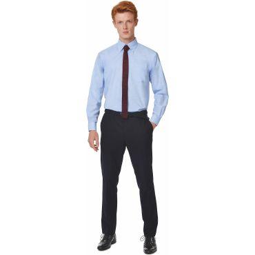 Camisa Oxford de manga larga Easycare hombre OXFORD LSL MEN B&C