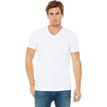 Camiseta cuello de pico hombre 3005 ALENA BELLA + CANVAS