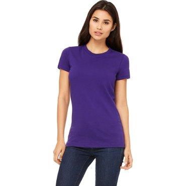 Camiseta básica mujer 6004 ABBY BELLA + CANVAS