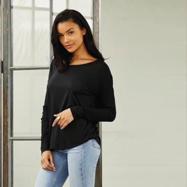 Camiseta manga larga mujer 8852 APRIL BELLA + CANVAS
