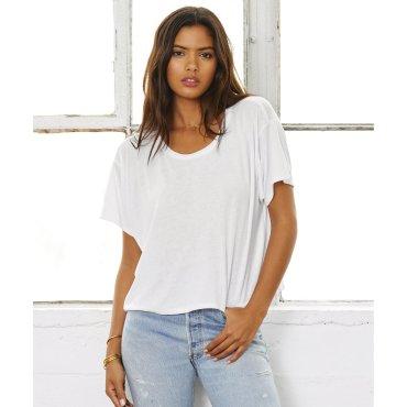 Camiseta crop mujer 8881 ALYSA BELLA + CANVAS