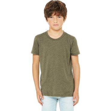 Camiseta básica niño 3413Y JACK BELLA + CANVAS
