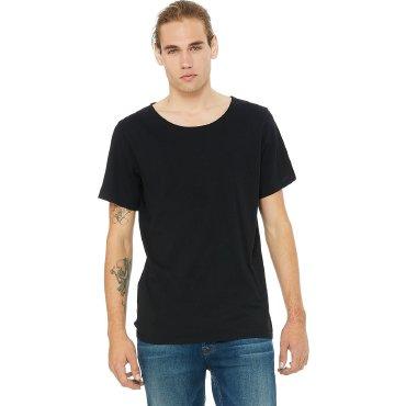Camiseta básica acabado descosido hombre 3014 MORGAN BELLA + CANVAS