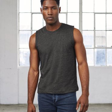 Camiseta sin mangas hombre 3483 ALICE BELLA + CANVAS