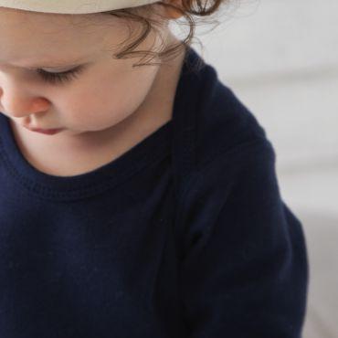 Gorro de bebe invierno orgánico AYDEN BZ01-TLC BABYBUGZ