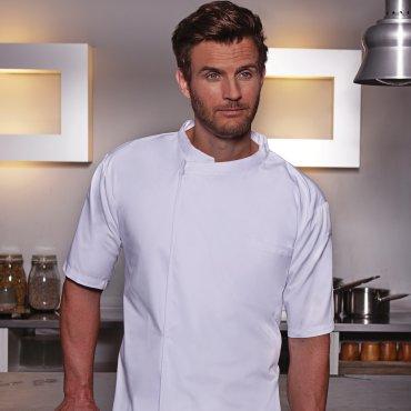 Camisa de chef manga corta hombre BJM 3 KARLOWSKY