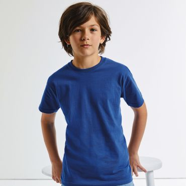 Camiseta básica niño R-155B-0 RUSSELL