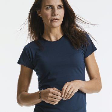 Camiseta básica mujer R-165F-0 HD RUSSELL