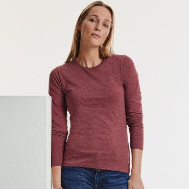Camiseta manga larga mujer R-167F-0 HD RUSSELL