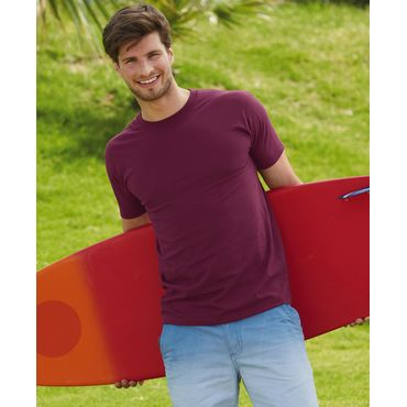 Camiseta básica hombre 61-044-0 SUPER PREMIUM FRUIT OF THE LOOM