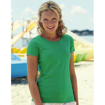 Camiseta básica ajustada mujer 61-372-0 VALUEWEIGHT FRUIT OF THE LOOM