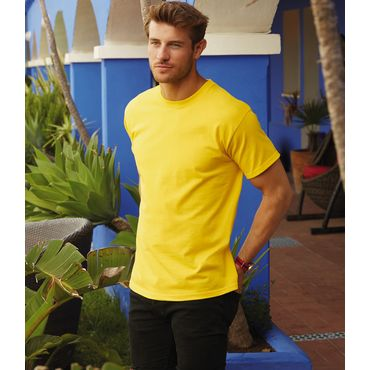 Camiseta básica hombre 61-212-0 HEAVY -T FRUIT OF THE LOOM