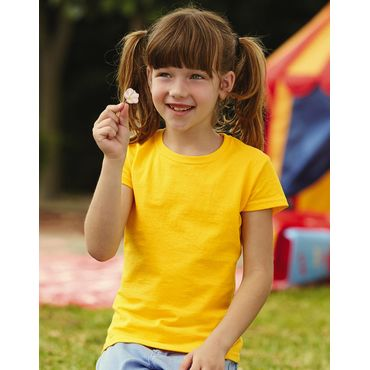 Camiseta niña 61-005-0 VALUEWEIGHT FRUIT OF THE LOOM